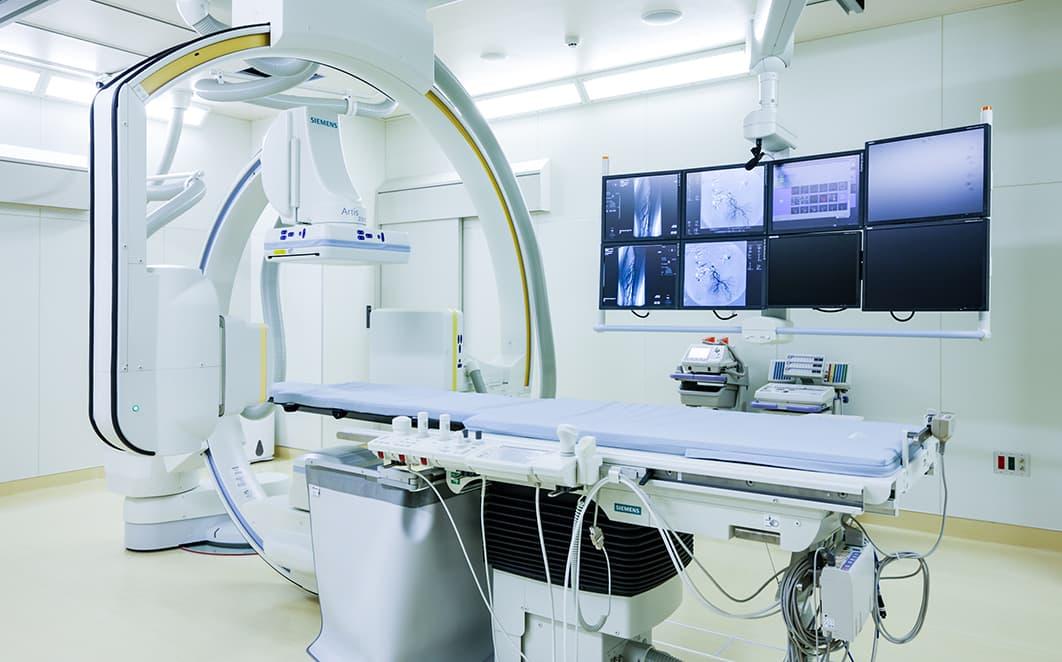 血管撮影室